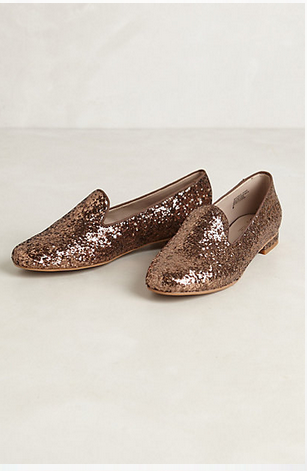 Seychelles Glitzed Smoking Slipper