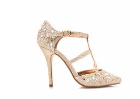 Go Jane Treasure Trove Metallic Heels